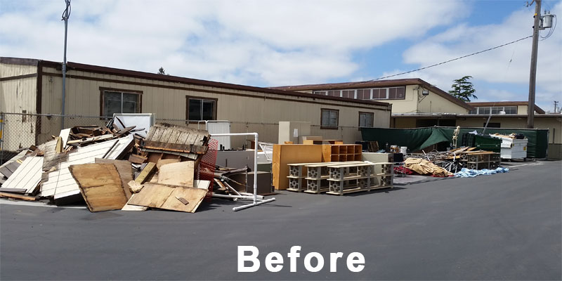 construction removal before