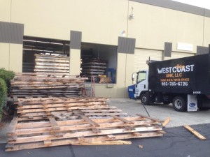 West Coast Junk Wood Removal 1