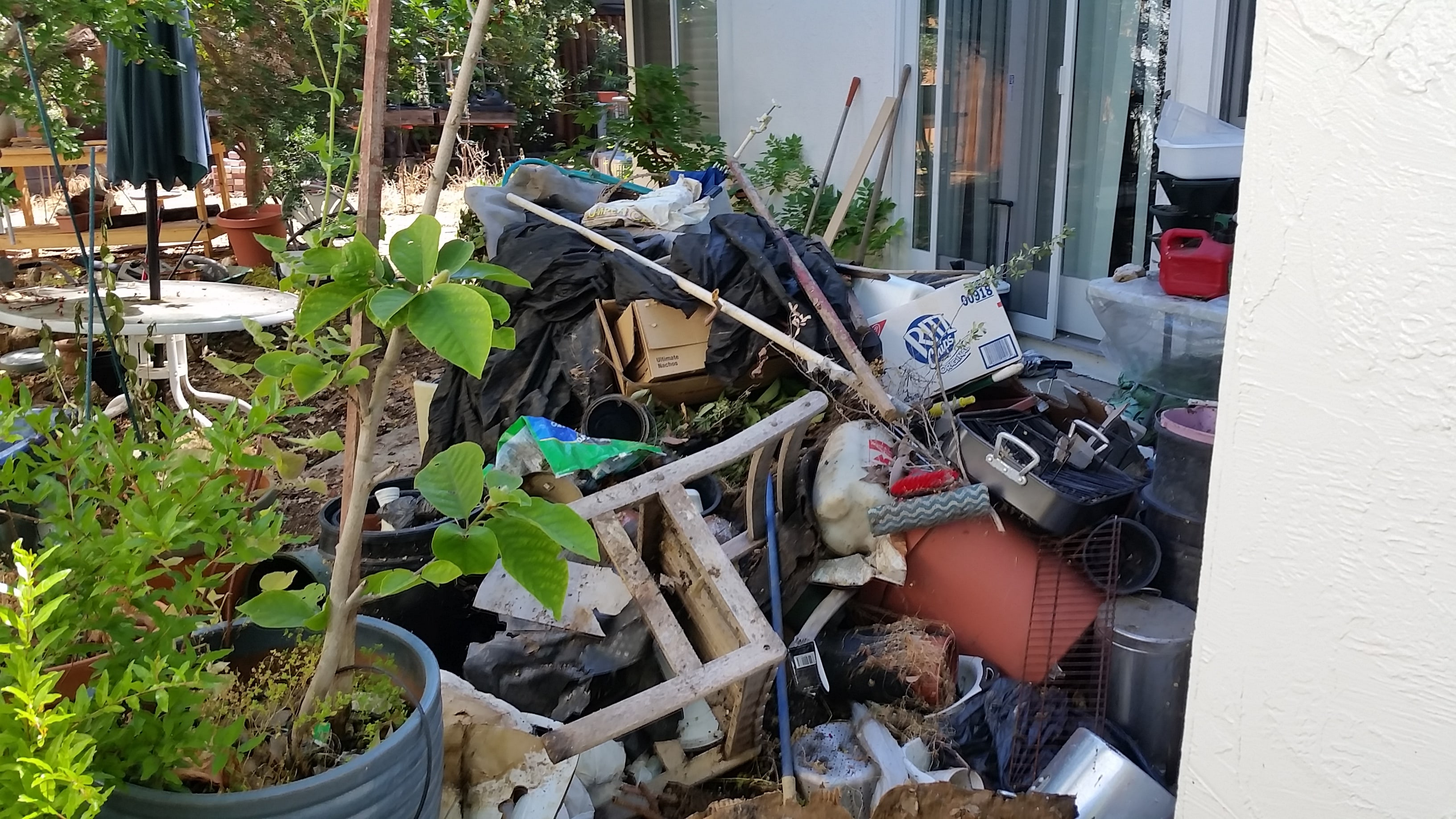 Junk Removal Saves a Backyard in Dublin, California - West ...