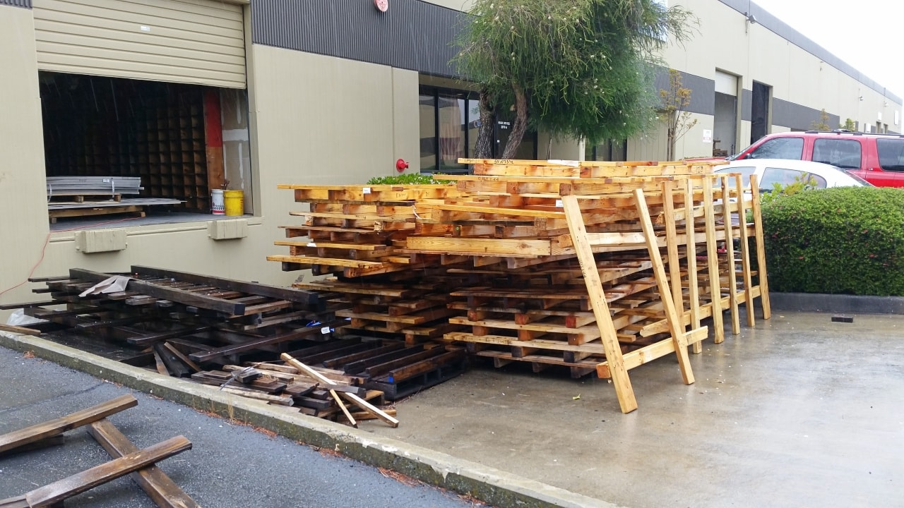 Pallet hauling service for the San Francisco Bay Area