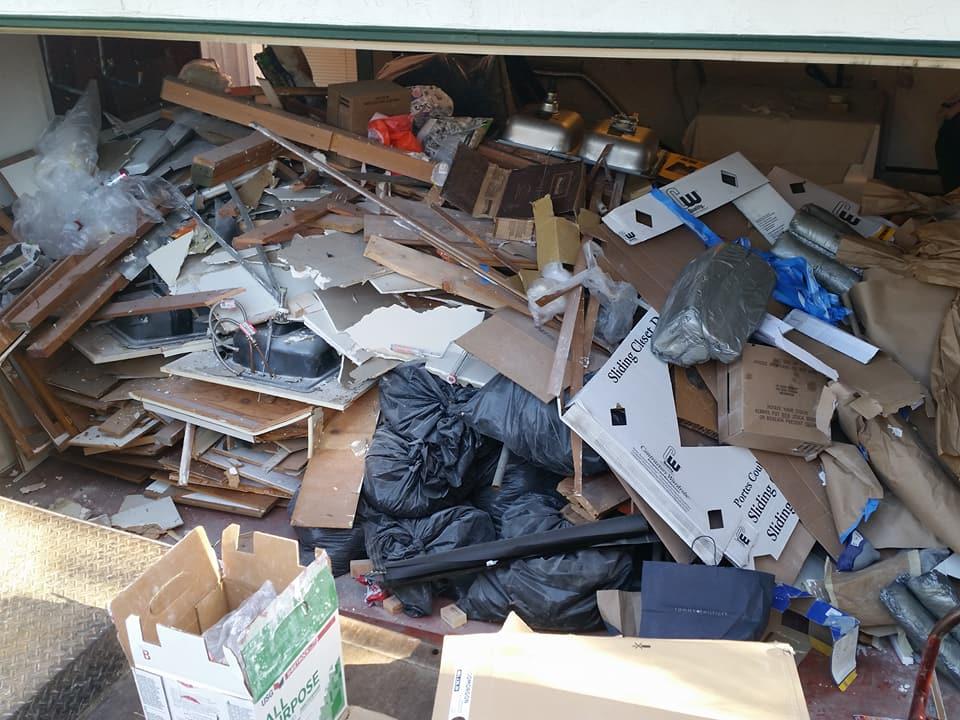 remodel demo debris in san jose sunnyvale