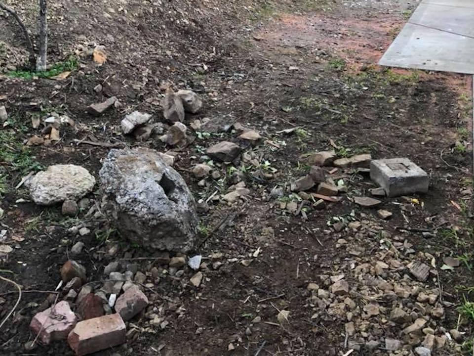 concrete hauling yard waste debris bay area