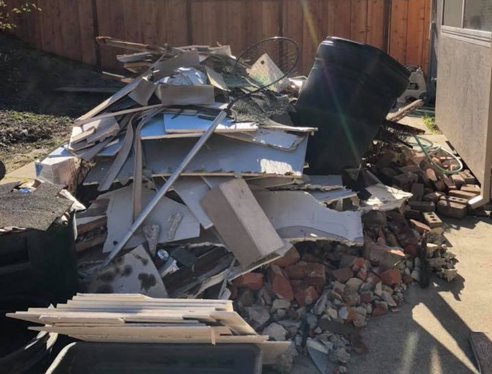 Construction debris to be cleaned up in Oakland