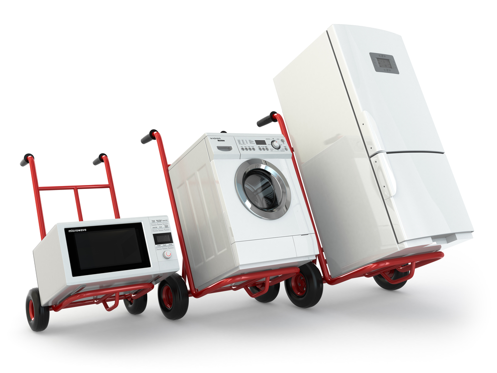 Appliance Disposal in San Jose, CA - Refrigerator disposal, washing machine disposal, microwave disposal, oven disposal