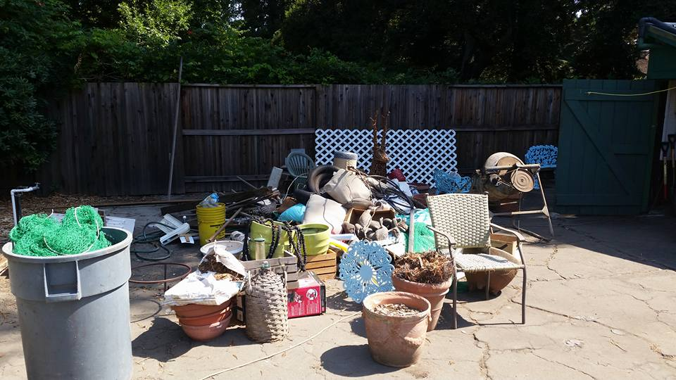 Garage clean out in Fremont, CA