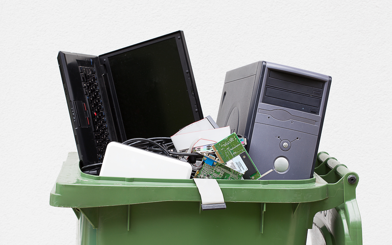 Dispose of old electronics the West Coast Junk way - easy!