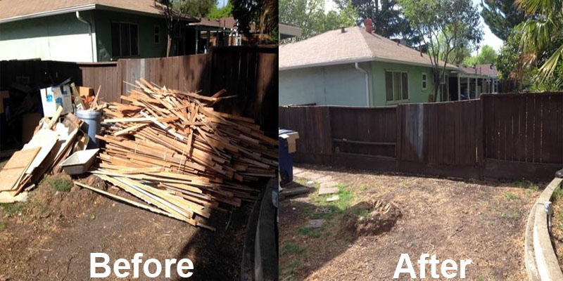 wood debris removal