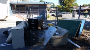 School Garbage Trash Junk Furniture Removal 1