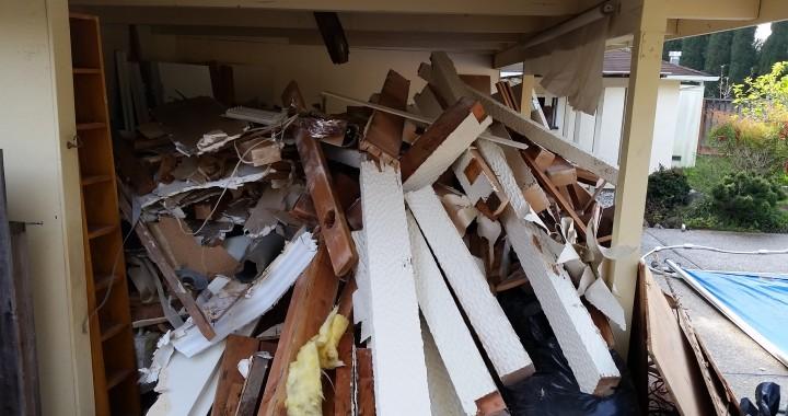 construction wood removal san jose