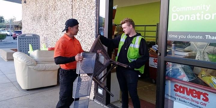 San Ramon junk removal and trash hauling service