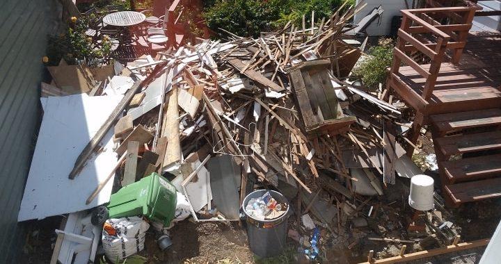 Construction debris removal service in San Francisco Bay Area