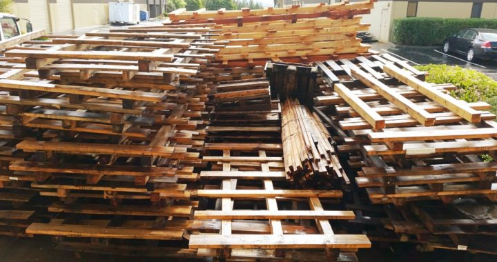 Pallet hauling service for San Francisco Bay Area
