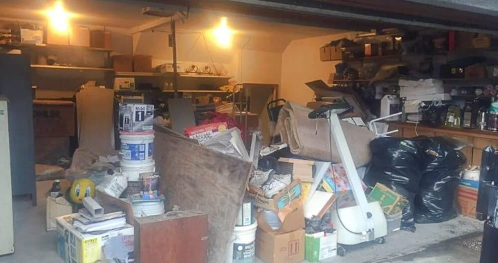 Garage full of hoarded junk need to be hauled away