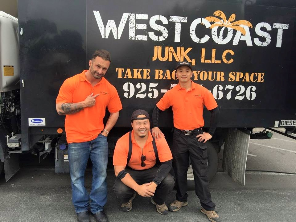 San Francisco Bay Area trash local junk hauler service offered by West Coast Junk
