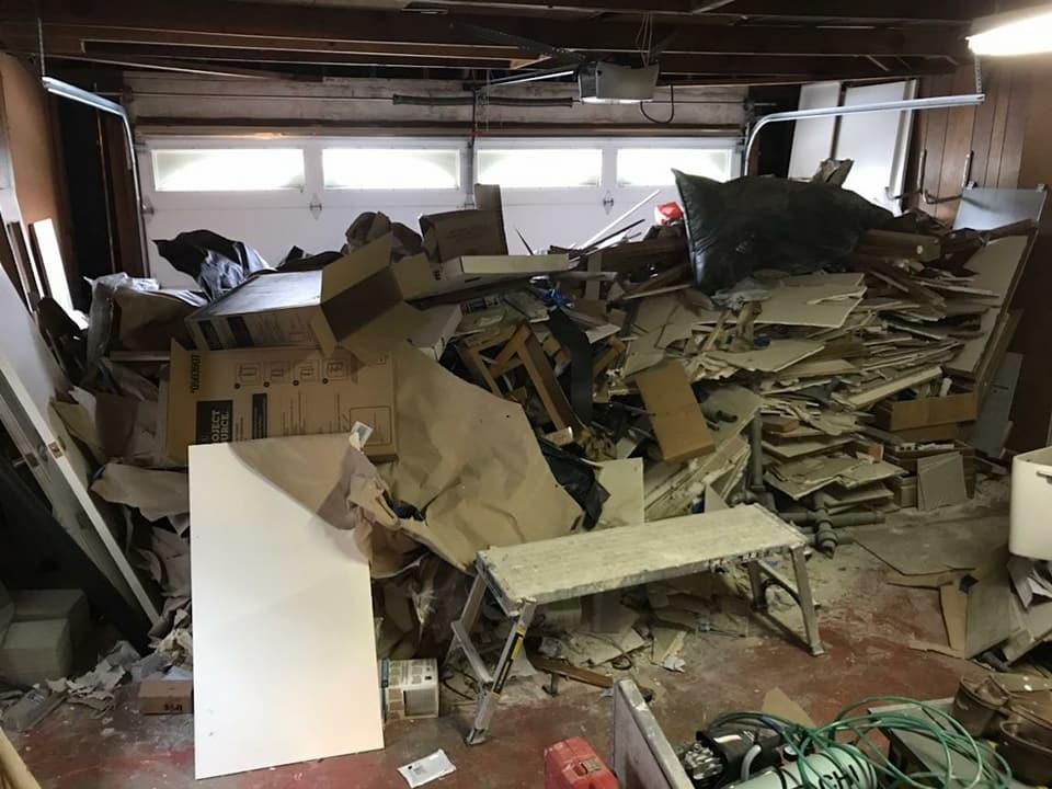 remodel debris removal san jose sunnyvale