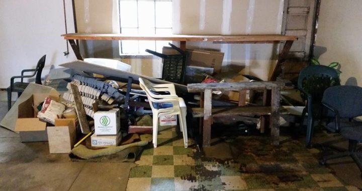 A garage clean out in Pleasanton, CA