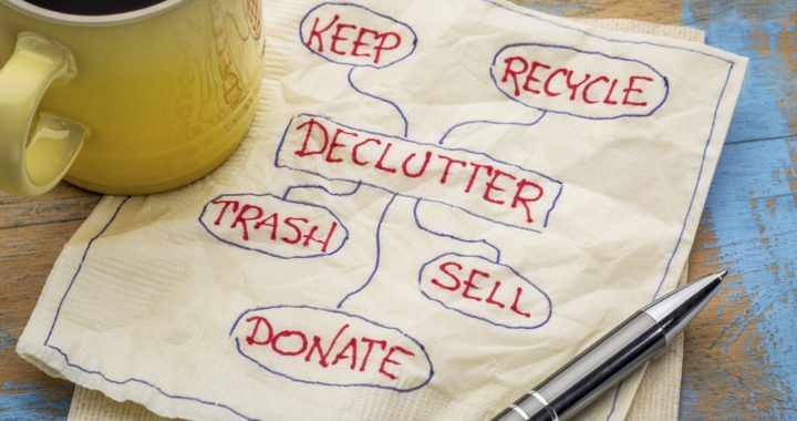 Hey Berkeley, did you know that May is Mental Health Month? Set your mind at ease with a declutter clean out!