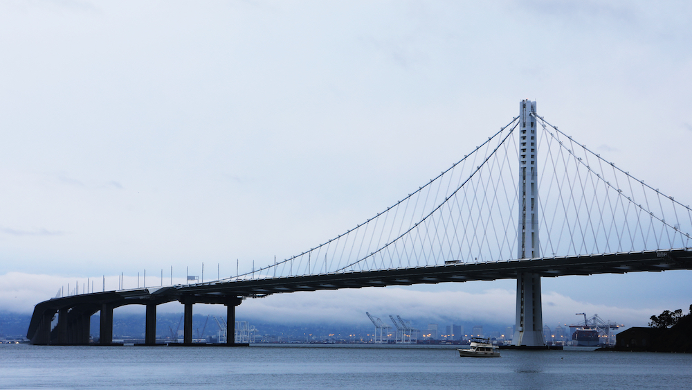 The San Francisco – Oakland Bay Bridge, California - Oakland weather makes for great outdoor entertaining! Clean out your yard of junk and sell your home!