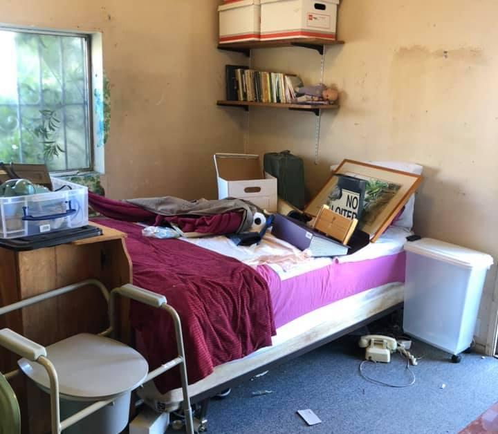 Junk room in a home improvement San Francisco apartment